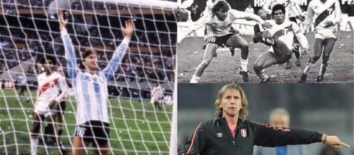 Ricardo Gareca, in passato con la nazionale Argentina e oggi Ct della nazionale Peruviana