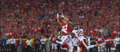 Travis Kelce's 111-yd game. [Image Credit: NFL/YouTube]