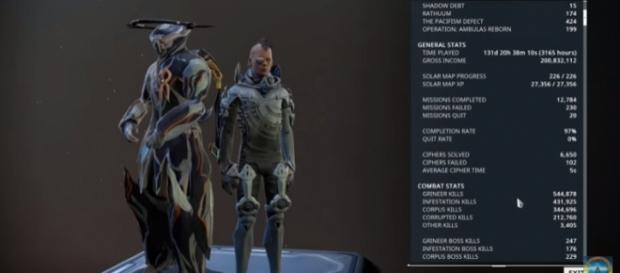 A screenshot from 'Warframe' - YouTube/OriginalWickedfun