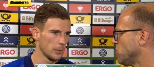 BFC Dynamo 0 - 2 Schalke 04 - LEON GORETZKA - Beitrag Match Interview - Image - GetBigShowTV | YouTube
