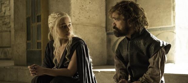 Daenerys Targaryen e Tyrion Lannister