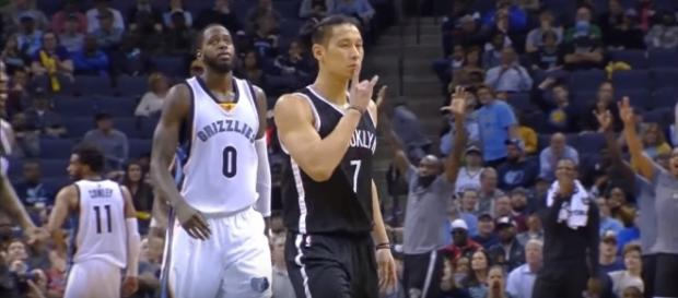 Jeremy Lin played well alongside new Nets teammate D'Angelo Russell -- Speed of Lin via YouTube