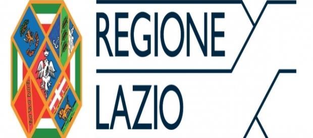 Logo della Regione Lazio, che è tra le prime in Italia a raddoppiare i compensi per gli stagisti.