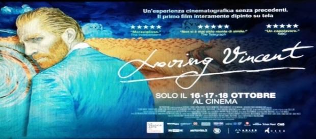 """Manifesto del film """"Loving Vincent"""""""