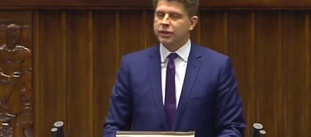 Petru kontra Pawłowicz w Sejmie (fot. gazeta.pl)
