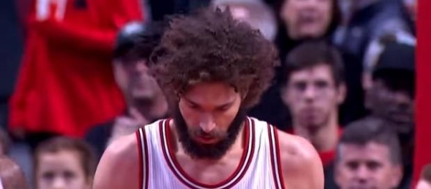 Robin Lopez is the starting center of the Chicago Bulls -- DownToBuck via YouTube