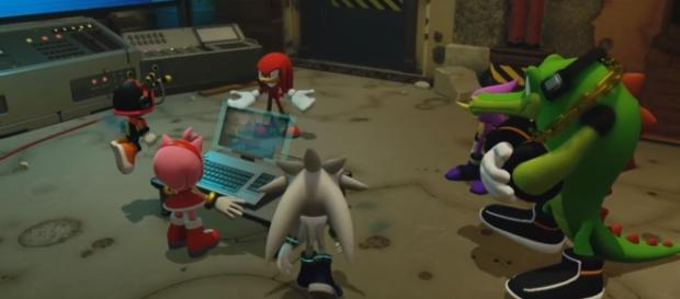 """SEGA reveals new Wispon weapons for """"Sonic Forces"""" video game. [Image Credits: Sonic the Hedgehog/YouTube]"""