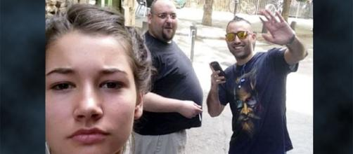 A woman is sick of men catcalling and objectifying her so she's doing something about it [Image: YouTube/theverge]