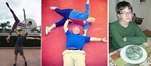 Alguns pais são muito 'zoeiros' (Fotos: Reprodução/Redes Sociais)