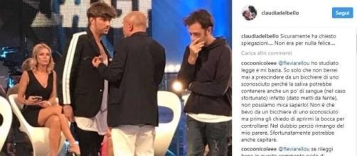 Andrea Damante e Alfonso Signorini: è lite