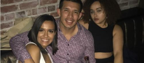 Briana DeJesus hangs with Javi Marroquin and her sister in NYC. [Photo via Instagram]