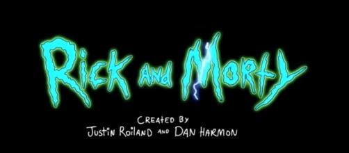 """[ClamJammah/ Youtube] A screenshot of the """"Rick and Morty"""" title screen"""