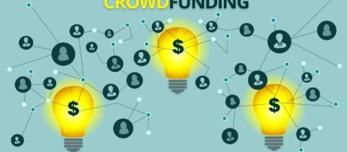 Crowdfunding photo via Flickr .