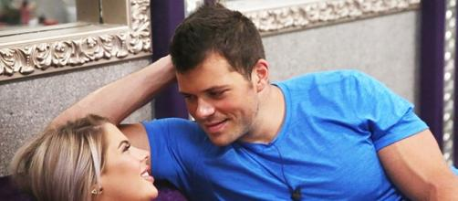 Elena and Mark from 'Big Brother' screenshot