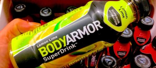 "From Flickr - BodyArmor Sports Drink, ""Super Drink"" 5/2016, pics by Mike Mozart of TheToyChannel and JeepersMedia on YouTube"