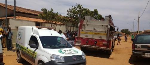 Imagem da creche onde ocorreu o atentado em Janaúba, Minas Gerais