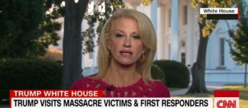 Kellyanne Conway on CNN, via Twitter