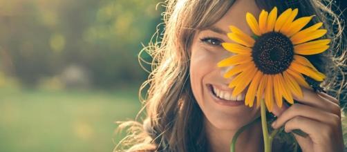 La sonrisa es saludable. Public Domain.