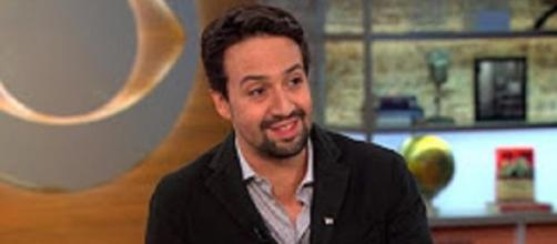 """Lin-Manuel Miranda wants his song """"Almost Like Praying"""" to pave a path for Puerto Rico's recovery. [CBS This Morning/YouTube screencap]"""