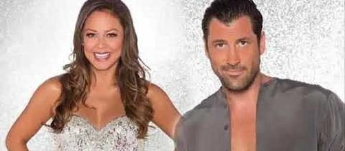 "Maks and Vanessa on ""Dancing with the Stars"" - Image Credit: Aban Famous News/YouTube"