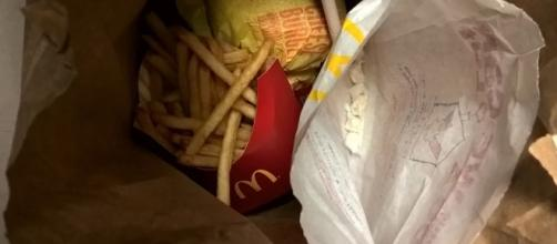 McDonald's worker caught selling cocaine at work. [Image Credit: Photo via Special Narcotics Prosecutor Bridget G. Brennan]