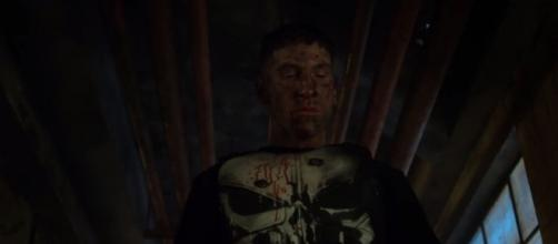 Not quite the image needed by Marvel and Netflix right now.'The Punisher' NYCC panel is cancelled. | Image Credit (Netflix/YouTube screenshot)