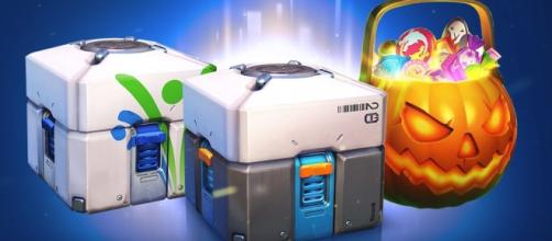'Overwatch' loot boxes. (image source: iKonakona/YouTube)