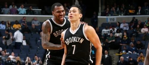 The Brooklyn Nets host the Miami Heat in Thursday night's NBA preseason action. [Image via NBA/YouTube]