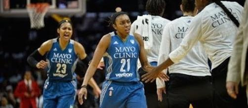 The Minnesota Lynx are the 2017 WNBA Champions after winning Game 5 against the L.A. Sparks. [Image Credi: WNBA/YouTube]