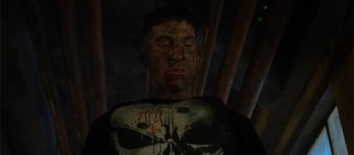 """The Punisher"" won't be making his debut in this weekend's New York Comic Con. (Image Credit: Netflix/YouTube)"