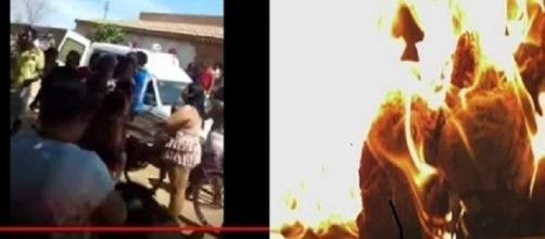 Vigia ateou fogo contra crianças e contra ele mesmo em Janauba-MG