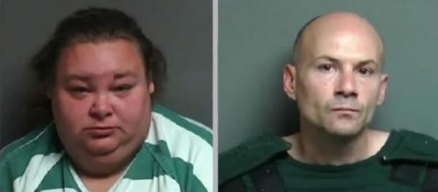 A couple was keeping a mentally and physically disabled woman prisoner in a shed for sex [Image: WXYZ-TV Detroit | Channel 7/YouTube]