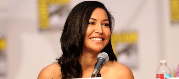 Actress Naya Rivera on the Glee panel at the 2010 San Diego Comic Con in San Diego, California-wikimedia commons