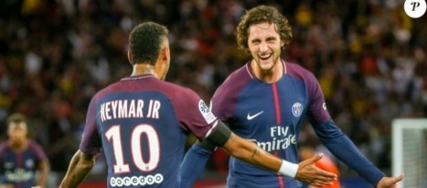 Adrien Rabiot parle de Neymar Junior