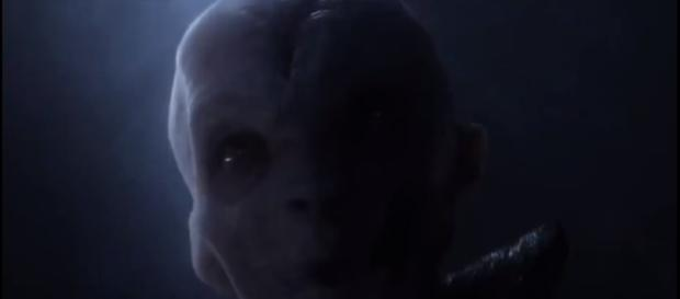 All of Supreme Leader Snoke Scenes in The Force Awakens; (Image Credit: Star Wars Rebel/ YouTube Screenshot)