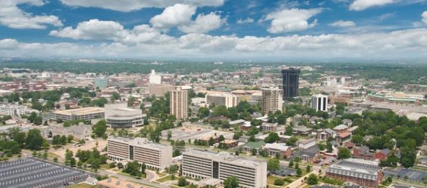 An aerial view of Springfield, Missouri City of Springfield website