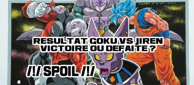 DBS111 : Résultat Gokû VS Jiren, Victoire ou défaire ? SPOIL (Image de Soot)