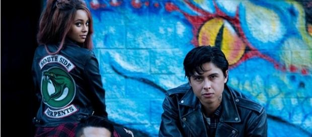 """First look at Toni Topaz and the Southside Serpents on """"Riverdale"""". (Image Credit: ArchieComics/Twitter)"""