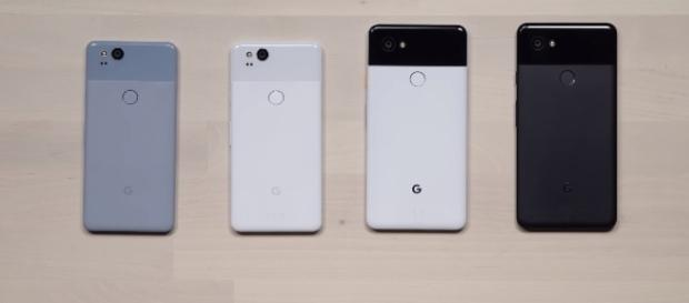 Google Pixel 2 and XL 2 - Image Credit: Unbox Therapy/YouTube