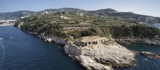 La Villa romana marittima al Capo di Sorrento