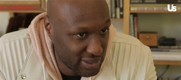 Lamar Odom opens up about his feelings about Khloe Kardashian's rumored pregnancy. (Us Weekly/YouTube)