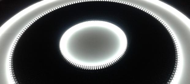 Particolare dell'installazione luminosa 1