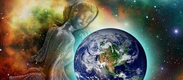 Sophia-Gaia: Die Schöpfergöttin der Erde.