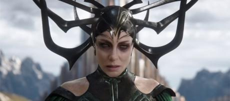 """Cate Blanchett plays the first ever female villain in the MCU in """"Thor: Ragnarok."""" (Marvel Entertainment/YouTube)"""