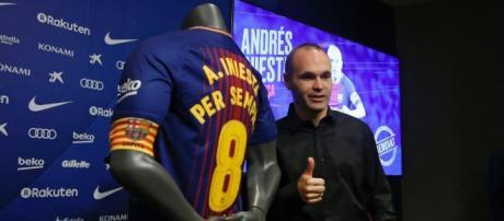 Iniesta prolonge à vie au Barça !