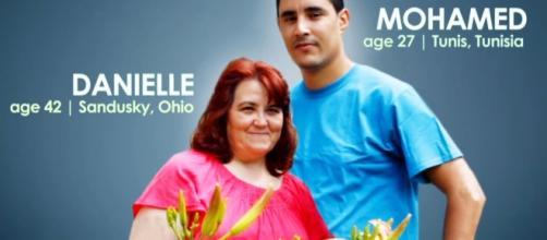 90 Day Fiance Stars Danielle and Mohamed Split - Screenshot