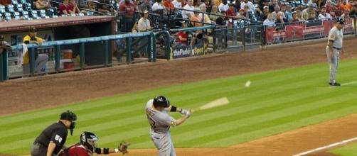Hitting will matter a lot. [Image Credit: Graham Richter/Wikimeda Commons]