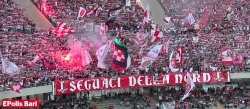 I seguaci della Nord, gruppo ultras del Bari (pugliain.net)