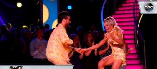 Lindsey and​ Mark's - Jive - Dancing with the Stars [Image via YouTube]