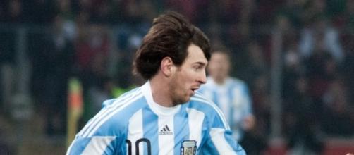 Lionel Messi non è riuscito ad incidere contro il Peru - Foto da upload.wikimedia.org